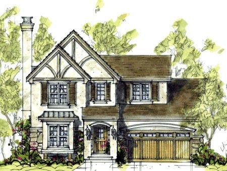 Cottage Craftsman House Plan 69078 Elevation