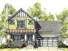 Craftsman House Plan 69079 Elevation