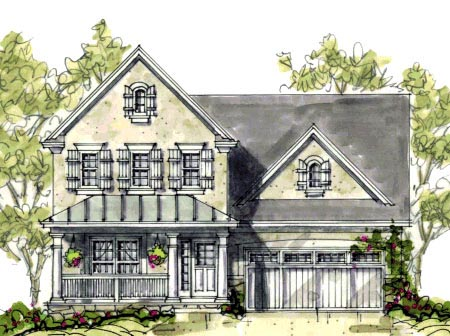 Craftsman House Plan 69095 Elevation