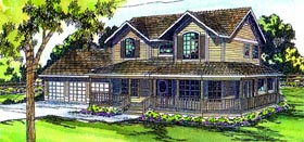 Plan Number 69102 - 3357 Square Feet