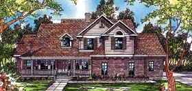 Country Traditional House Plan 69106 Elevation