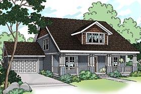 Bungalow Craftsman House Plan 69118 Elevation