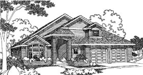 Traditional House Plan 69120 Elevation