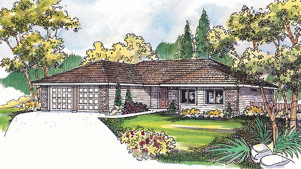 Traditional House Plan 69140 Elevation