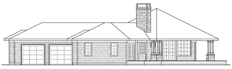 Contemporary House Plan 69143