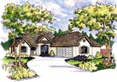 Plan Number 69145 - 1605 Square Feet