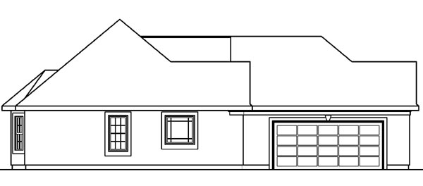 European, Florida, Mediterranean, One-Story, Ranch House Plan 69145 with 3 Beds, 2 Baths, 2 Car Garage Picture 1