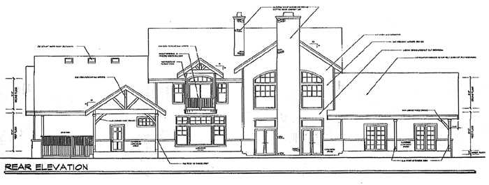 Country Traditional House Plan 69151 Rear Elevation
