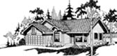 Plan Number 69161 - 1568 Square Feet