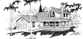 Country Farmhouse House Plan 69165 Elevation