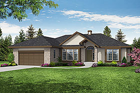 Traditional House Plan 69166 Elevation
