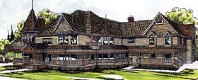 Farmhouse Victorian House Plan 69174 Elevation