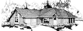 Contemporary House Plan 69181 Elevation
