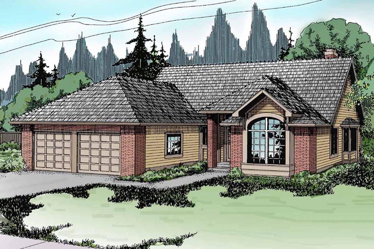 Traditional House Plan 69183 Elevation