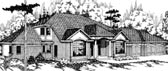Plan Number 69188 - 3810 Square Feet