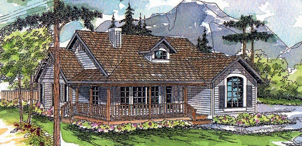 Country House Plan 69189 Elevation