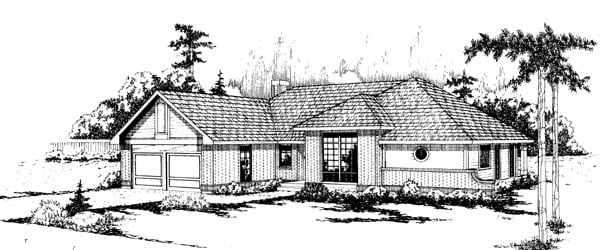 Mediterranean House Plan 69202 Elevation