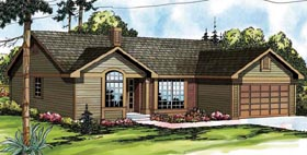 Traditional House Plan 69204 Elevation