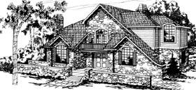 Tudor House Plan 69207 Elevation