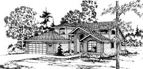 Mediterranean House Plan 69217 Elevation