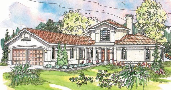 Mediterranean House Plan 69226 Elevation
