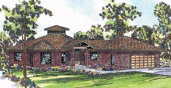 Traditional House Plan 69235 Elevation