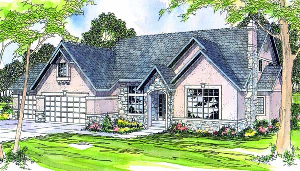 Traditional House Plan 69239 Elevation
