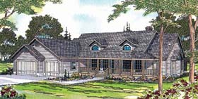 Country House Plan 69245 Elevation