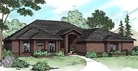 Traditional House Plan 69257 Elevation