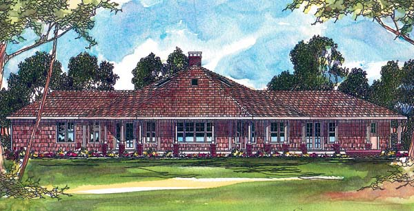 Traditional House Plan 69267 Elevation