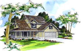 Country House Plan 69269 Elevation