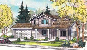 Country House Plan 69270 Elevation