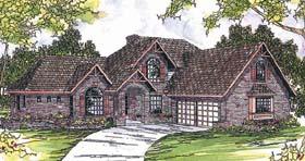 Craftsman European House Plan 69272 Elevation