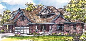 Traditional House Plan 69281 Elevation