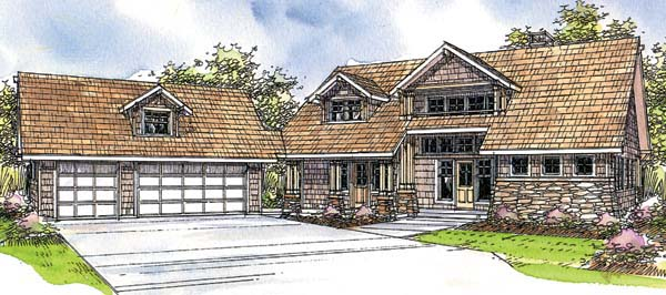 Country House Plan 69282 Elevation