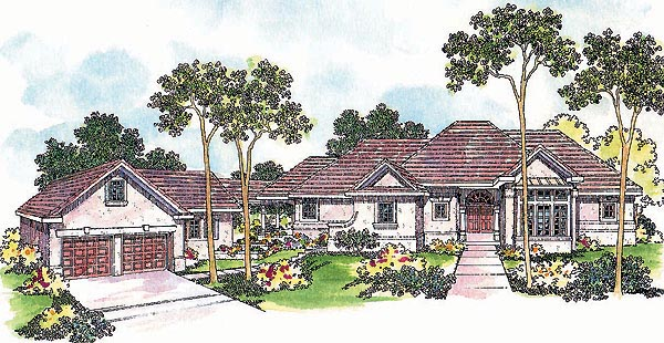 Traditional House Plan 69290 Elevation
