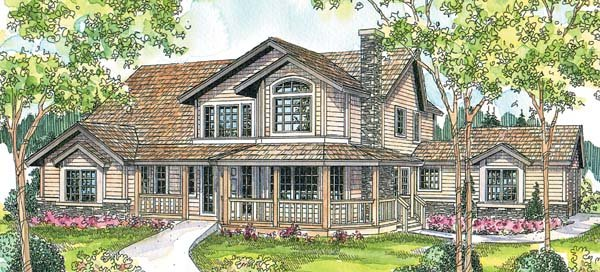 Country House Plan 69292 Elevation