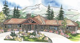 Craftsman House Plan 69295 Elevation