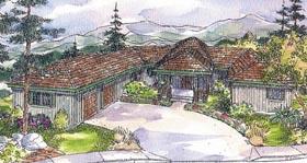 Southwest House Plan 69300 Elevation