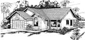 Plan Number 69305 - 1572 Square Feet