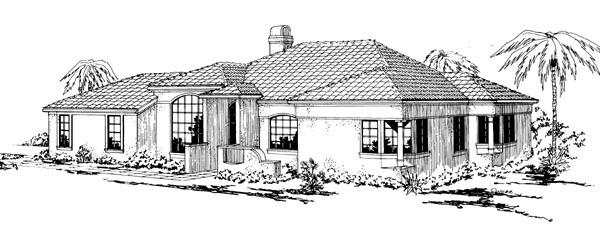 Mediterranean House Plan 69309 Elevation