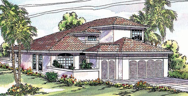 Mediterranean House Plan 69310 Elevation