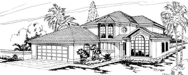 Mediterranean House Plan 69311 Elevation