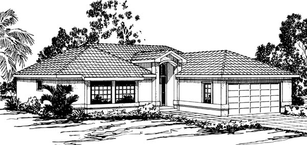 Florida House Plan 69317 Elevation