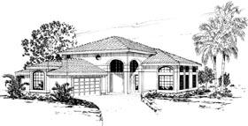 Mediterranean House Plan 69322 Elevation