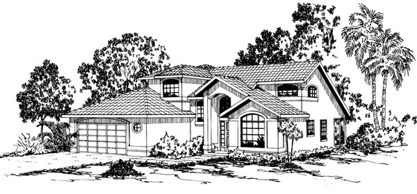 Mediterranean House Plan 69324 Elevation