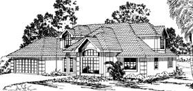 Florida Traditional House Plan 69329 Elevation