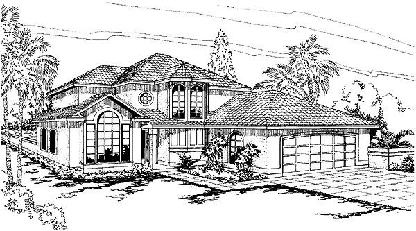 Mediterranean House Plan 69334 Elevation