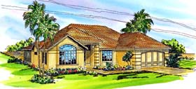 Florida House Plan 69338 Elevation