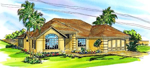 Florida House Plan 69338 Elevation